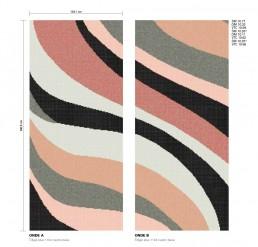 Modern Mosaic Pattern Onde
