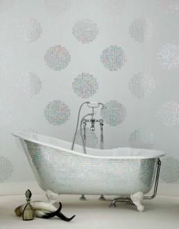 Modern Mosaic Pattern Pois