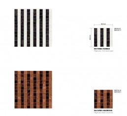 Timeless Mosaic Pattern Rayures