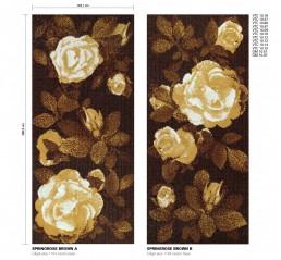 Floral Mosaic Pattern Springrose