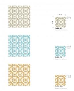 Modern Mosaic Pattern Stamps