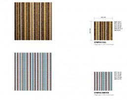 Modern Mosaic Pattern Stripes
