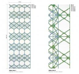 Modern Mosaic Pattern Treillage