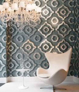 Timeless Mosaic Pattern Velvet