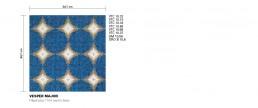 Modern Mosaic Pattern Vesper Major