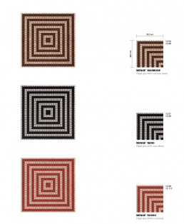 Timeless Mosaic Pattern Wenge