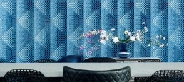 Pyramid Blu from the Bisazza 2018 Collection
