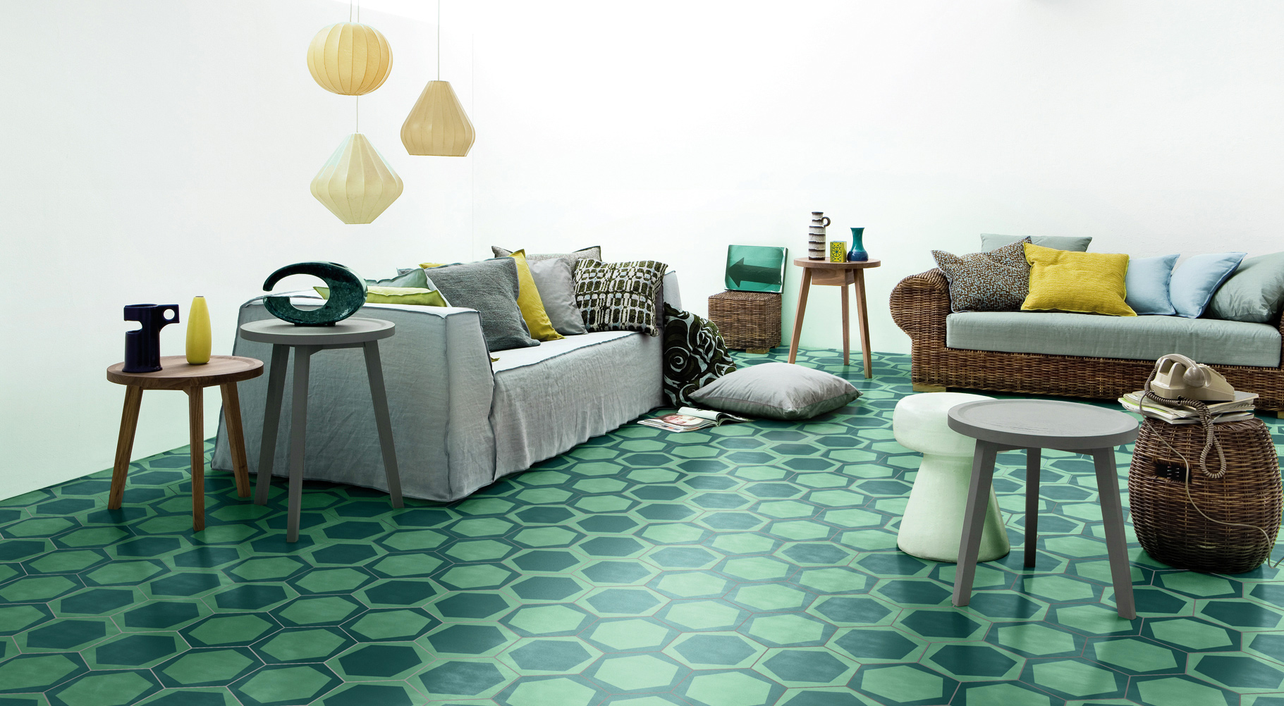 Part of the new Cementiles Atlantic Collection