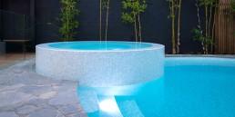 Ghiaccio Mosaic Blend Pool
