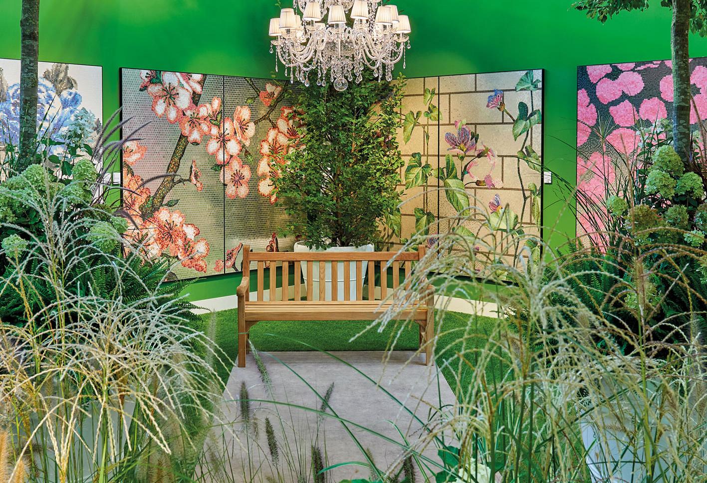 Il Giardino Segreto - Bisazza's 2018 Cersaie Stand