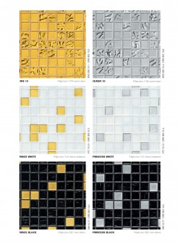 Bisazza Mosaic Gold Blends