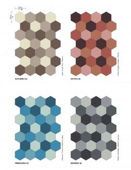 Cementiles Hexagonal Blends