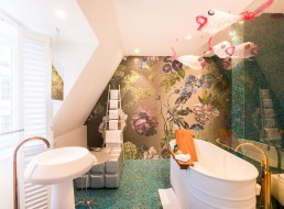 Bisazza Mosaic at Hotel De Witte Lelie