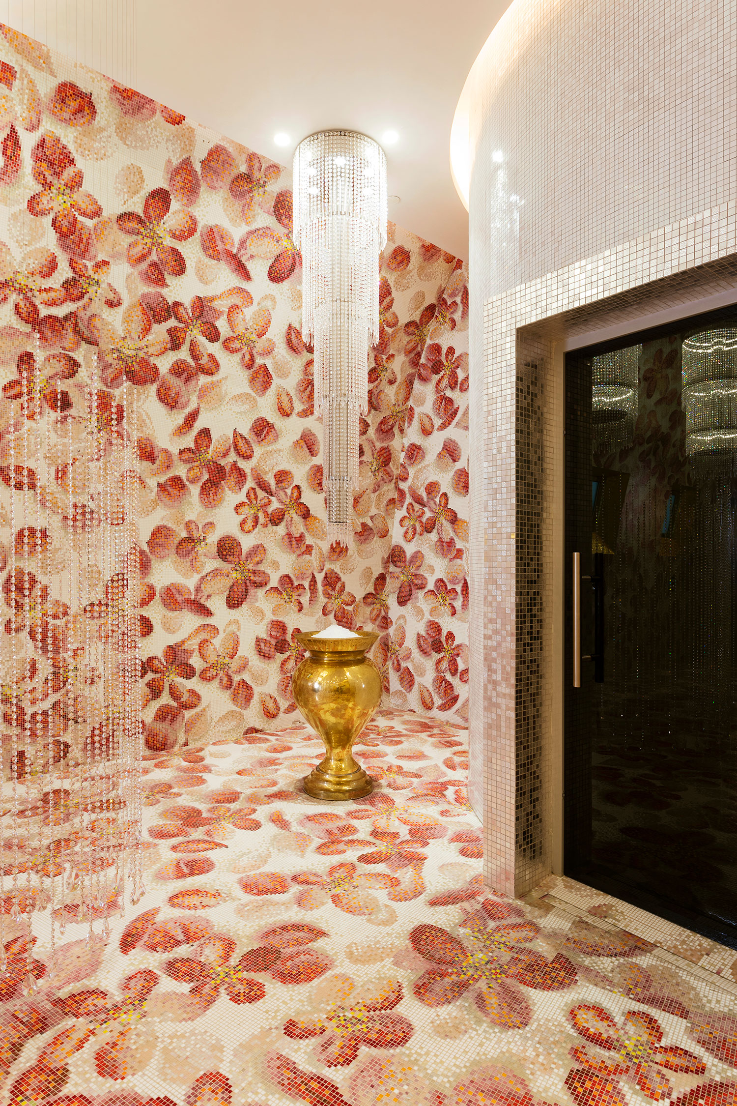 Bisazza Mosaic at the Mondrian Spa
