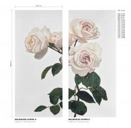 Malmaison Floral Mosaic Pattern