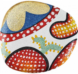 Limited Edition Pebbles Collection of Mosaic Coffee Table ALICE