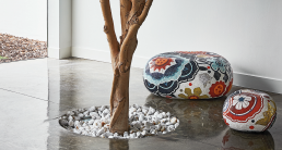 Limited Edition Pebbles Collection of Mosaic Coffee Tables