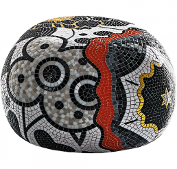Limited Edition Pebbles Collection of Mosaic Coffee Table ISABEL