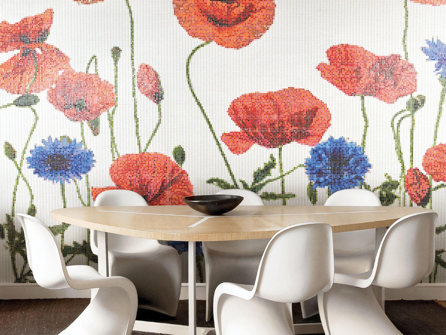 HAMEAU Floral Mosaic Pattern