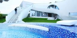 casa son vida featuring Bisazza mosaic
