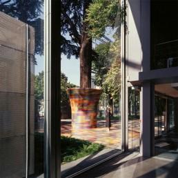 Mendini Bisazza Mosaic Plant Pot