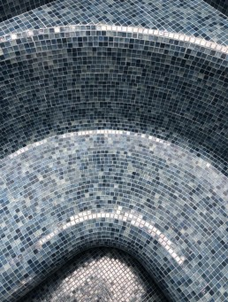 OPERA Mosaic in Steam Room