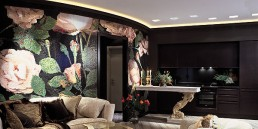 SPRINGROSE Mosaic Decoration in the Sochi Apartment Lounge