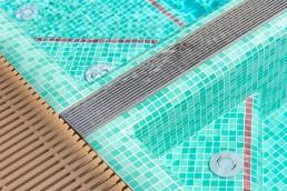 Bisazza BAHAMAS Swimming Pool Mosaic Blend