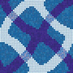 Bisazza MIRAGE Swimming Pool Mosaic Pattern