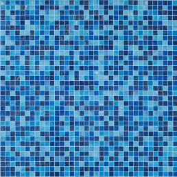 Bisazza Bespoke Blue Swimming Pool Mosaic Blend