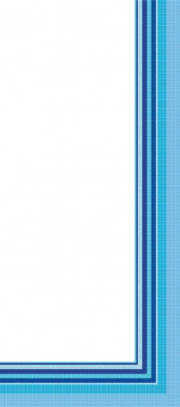 Bisazza FOULARD CELESTE Swimming Pool Mosaic Border