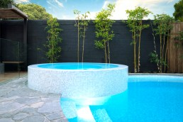 Bisazza GHIACCIO Swimming Pool Mosaic Blend