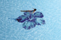 Bisazza IBISCUS Swimming Pool Mosaic Decoration