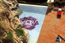 Bisazza ROSA ROSA Swimming Pool Mosaic Decoration
