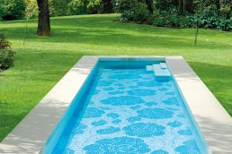 Bisazza ZANTE BIANCO Swimming Pool Mosaic Pattern