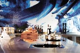 Mosaic Interior Design at the Bluespoon Restaurant