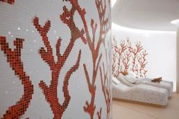 Bisazza CORALLO Swimming Pool Mosaic Pattern