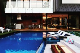 Bisazza Custom Shading Blend Swimming Pool Mosaic