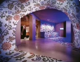 Una Hotel Lobby Interior Design Mosaic