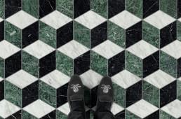 CAPALBIO PRATO - MARMO Marble Flooring Pattern