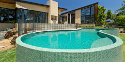Swimming Pool with LE GEMME Mosaic