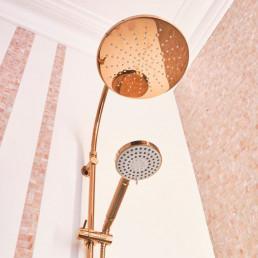 Pink LE GEMME Mosaic Bathroom Tiles